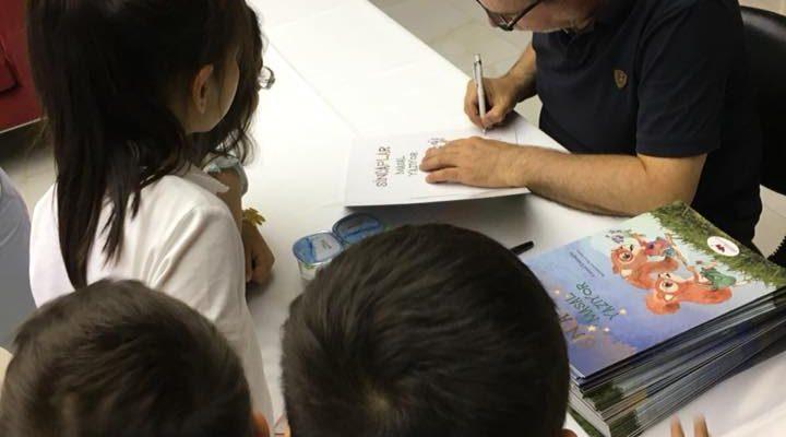 Çocuk Kitapları Yazarı Cemal Ustaoğlu Okulumuzda