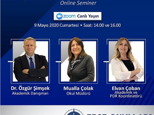 """""""GELECEĞİN EĞİTİMİ VE GÜVENLİ OKUL"""" SEMİNERİ"""