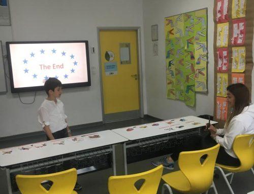 1. Sınıflar İngilizce Portfolyo Günü